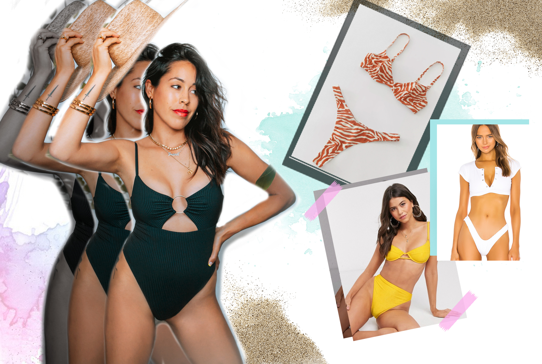 Cute Swimsuits Under $100