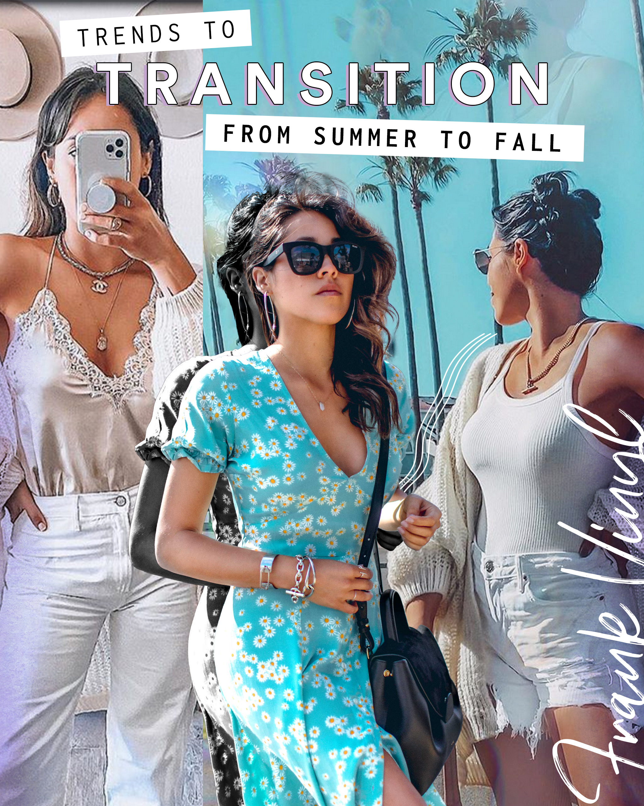 Fall Trends: How to Transition from Summer to Fall